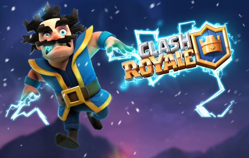 clash royale the electro wizard is now available dn reviews